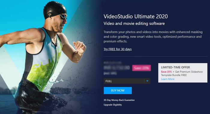 Corel VideoStudio Ultimate Coupon Code