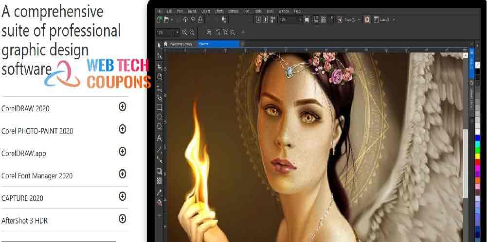 CorelDRAW Graphics Suite 2020 Coupon