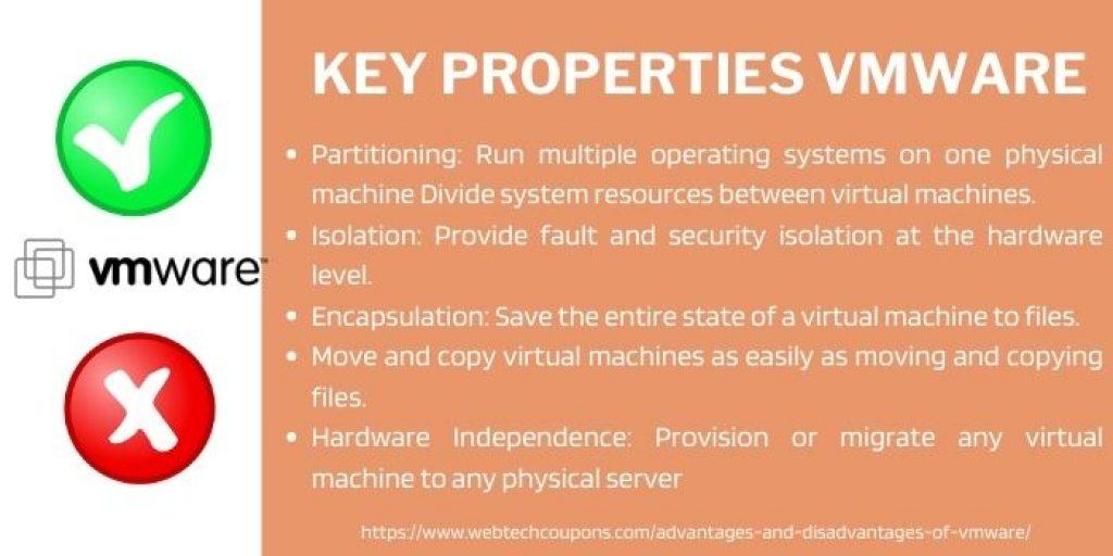 Key Properties VMware