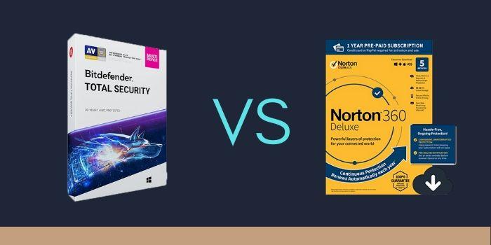 Norton 360 Deluxe vs Bitdefender Total Security 2020
