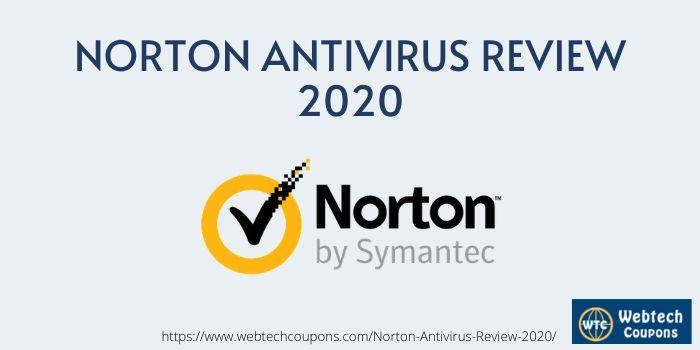 Norton Antivirus Review 2020