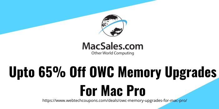 OWC Memory Upgrades For Mac Pro