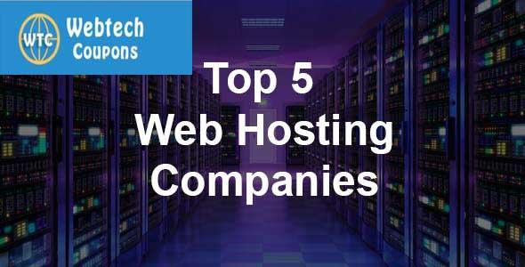 Top 5 Web Hosting Companies Reviws