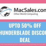 UPTO 50% OFF THUNDERBLADE DISCOUNT DEAL