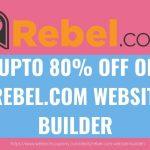 Upto 80 Off REBEL.COM WEBSITE BUILDER