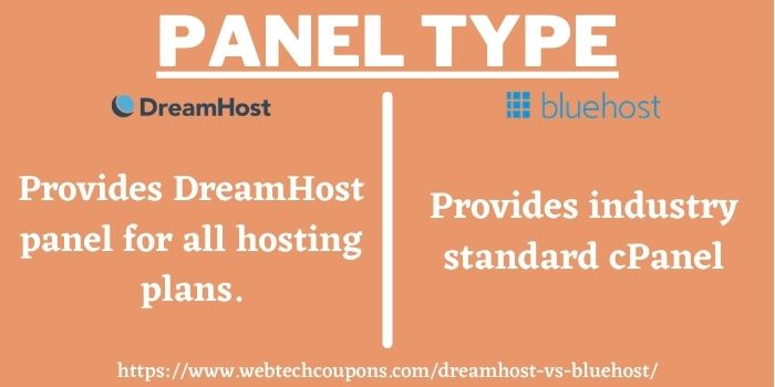 difference between DreamHost vs BlueHost