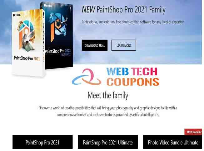 PaintShop Pro 2021 ultimate coupon