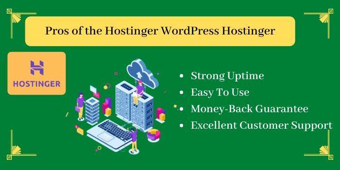Pros of the Hostinger WordPress Hosting
