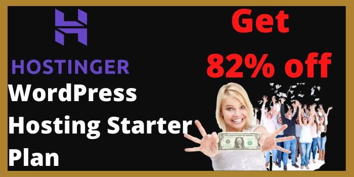 WordPress Hosting Starter Plan