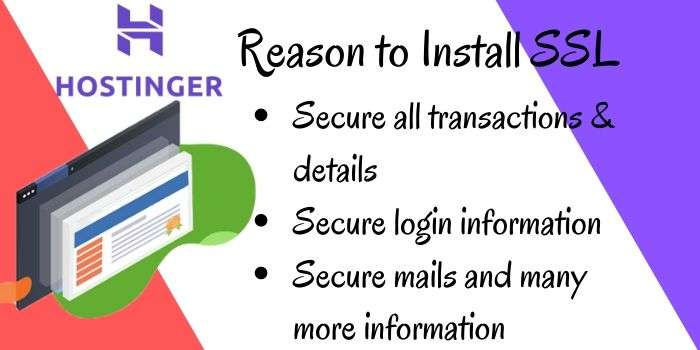 Reason to Install SSL
