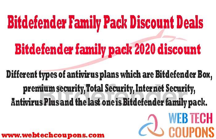Bitdefender family pack 2020 discount