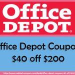 40 off 200 office depot