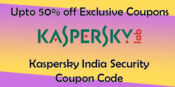 Kaspersky India coupons available