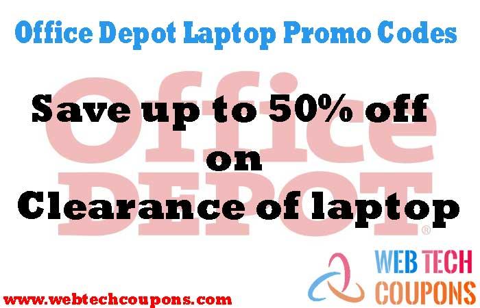 Office Depot Laptop Promo-Codes