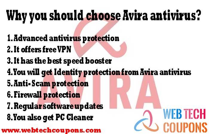 Why you should choose Avira antivirus