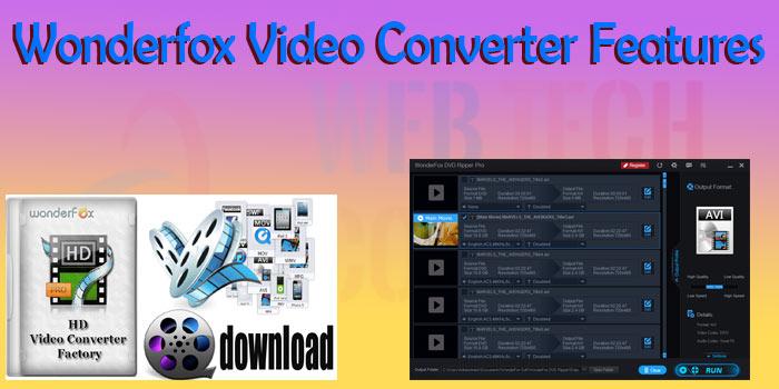 Wonderfox-Video-Converter-Features