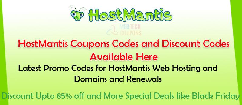 Hostmantis Discount codes
