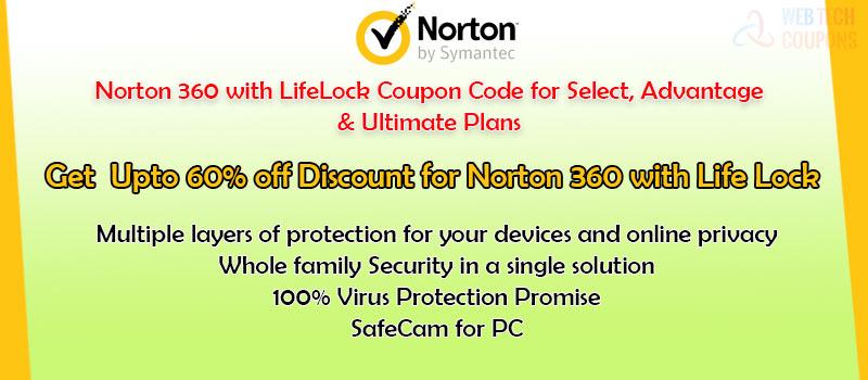 Norton 360 life lock offer