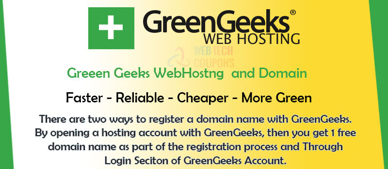 greengeeks domain name registration