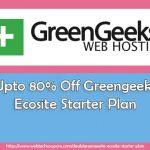 greengeeks starter plan coupon