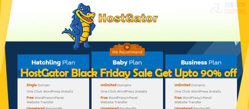 hostgator black friday hosting discount