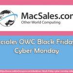 macsales owc black friday sales
