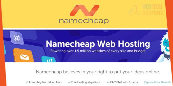 namecheap hosting promo Code