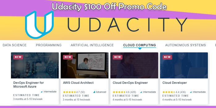 udacity best discount dollar 100 off