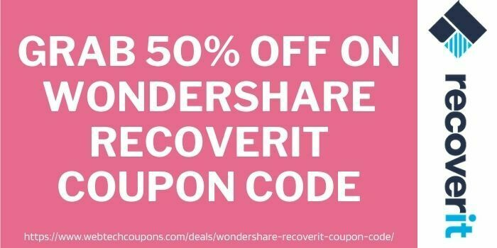 wondershare recoverit discount code