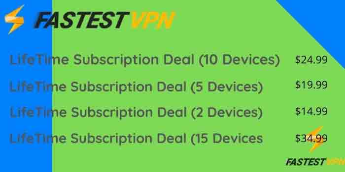Fastest LifeTime Subscription