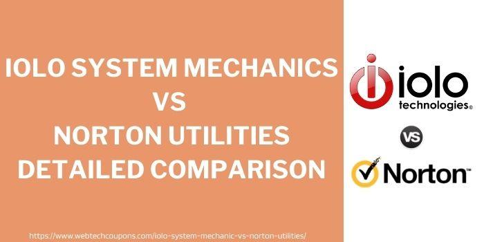 Iolo System Mechanics vs Norton Utilities