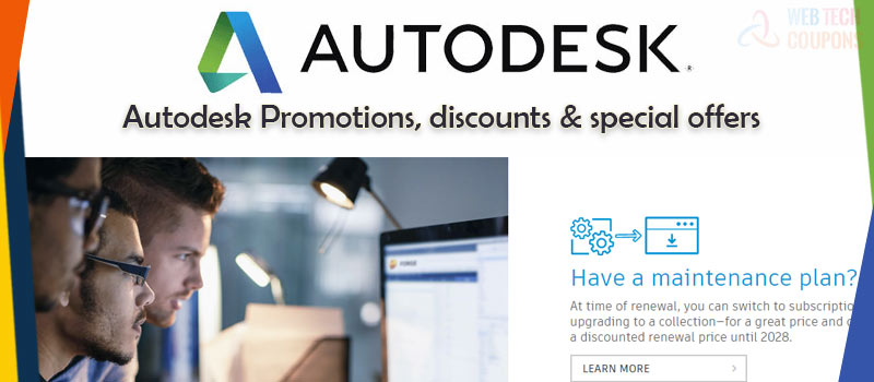 autodesk plan and offers