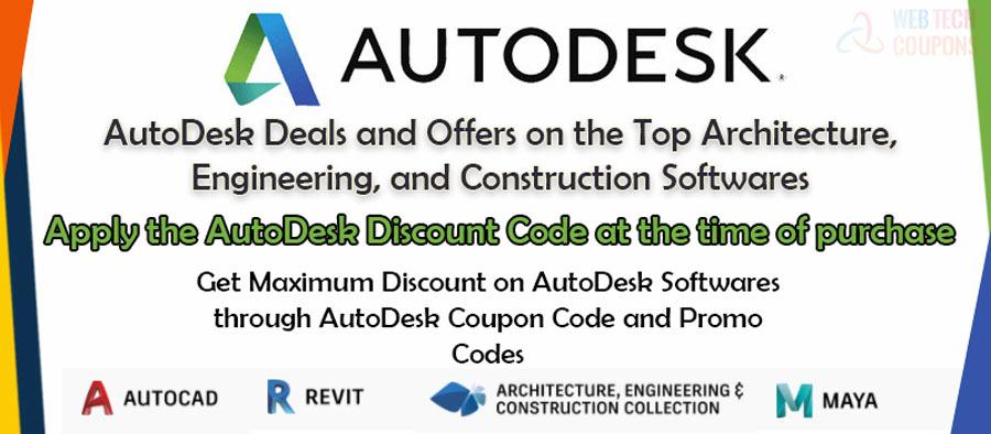 autodesk softwares discount deals