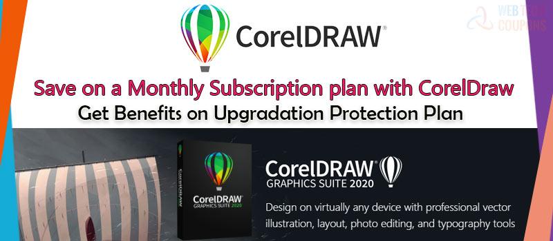 coreldraw monthly subscription