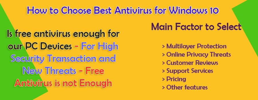 how to choose best antivirus