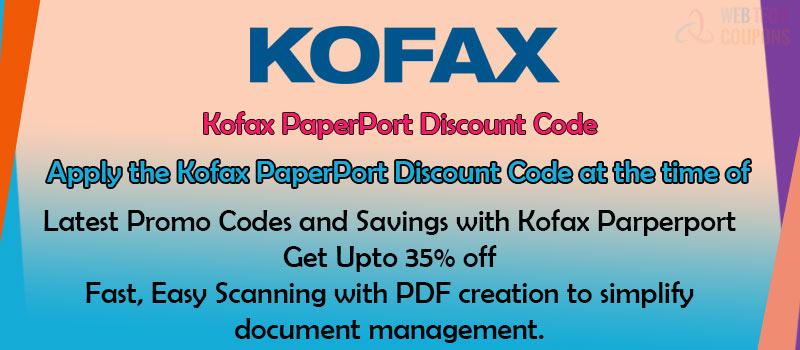 kofax paperport Discount Codes