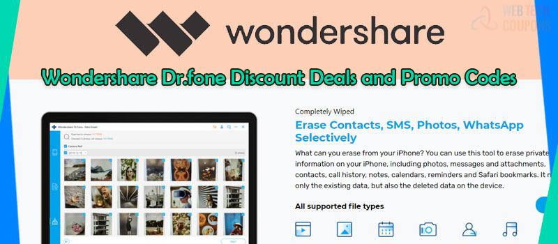 wondershare dr fone discount deals
