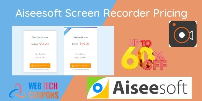 Aiseesoft Screen Recorder Pricing