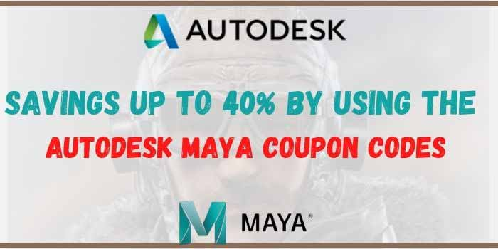 Autodesk Maya Coupons
