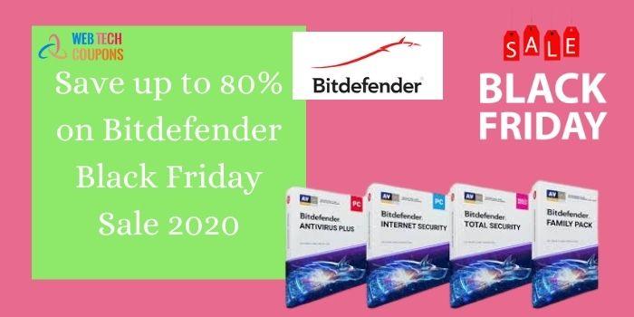 Bitdefender Black Friday Sale 2020