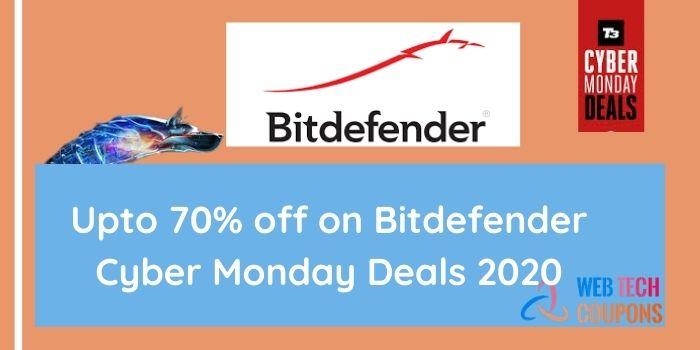 Bitdefender Cyber Monday Deals 2020