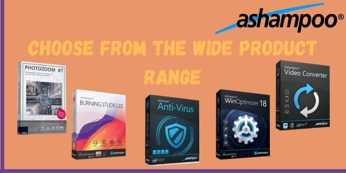 Choose the best product during the Ashampoo Black Friday Sale