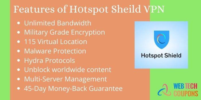 Features of Hotspot Shield