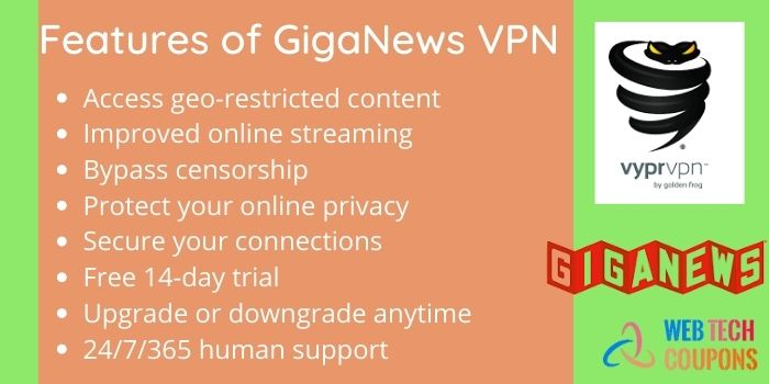 Giganews features
