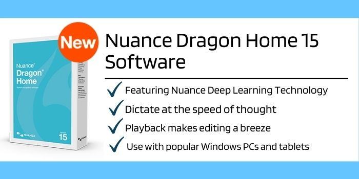 Nuance Dragon Home 15 Software Features