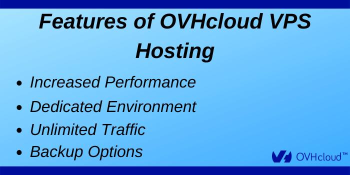 OVHcloud Promo Code - Features of OVHcloud VPS Hosting
