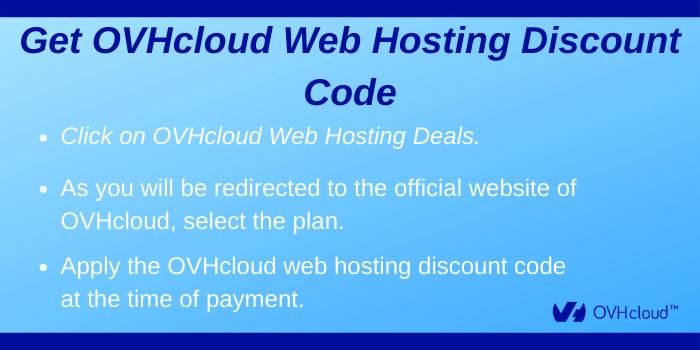 OVHcloud Web Hosting Discount Code unt Code