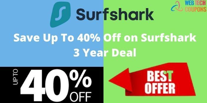 Surfshark 3 Year Deal