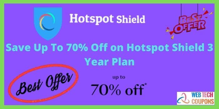 Hotspot Shield 3 Year Plan