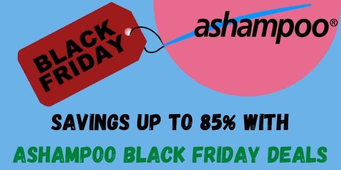 Savings up to 85% by shopping at Ashampoo Black Friday Deals